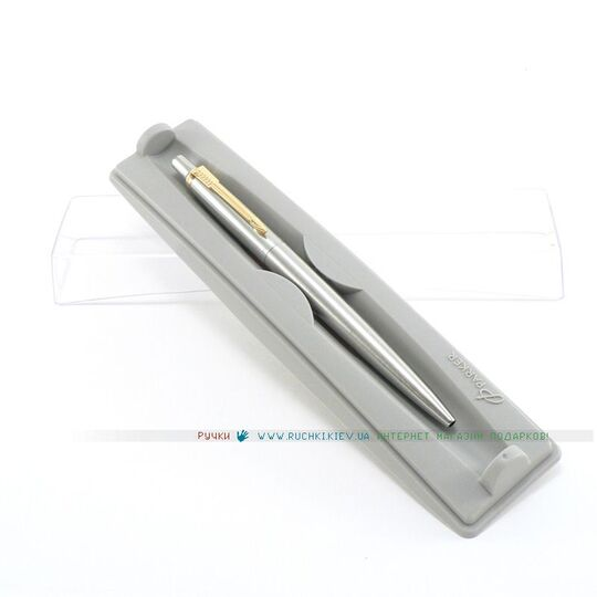 Шариковая ручка Parker Jotter ¨Stainless Steel GT¨ 14 332