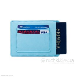Чехол для паспорта Malto Roma Viva Light Blue