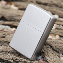 Запальничка Zippo – Матовий хром (Satin Chrome)