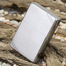Запальничка Zippo – Вінтажний хром (Vintage Brushed Chrome)